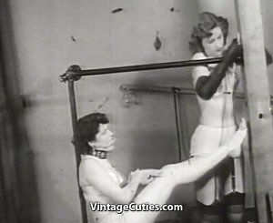 Lonely Babes Love Fetish Games (1950s Vintage)