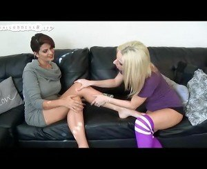 Roxie Rae Worship Brandon Areana Toes And Soles FOOT WORSHIP