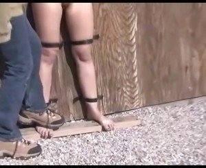 Bondage and Foot Domination