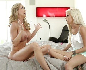 Halle Von and her Step-mom Brandi Love