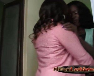 Busty african lesbians hot fingering