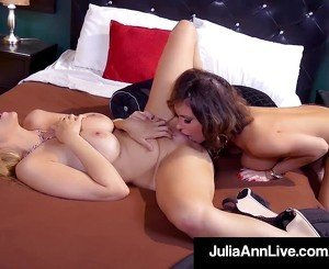 MilfMania With JuliaAnn & Jessica Jaymes Going Lesbi-Crazy!